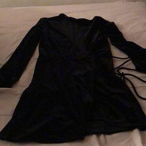 NWOT Zara dress wrap black s